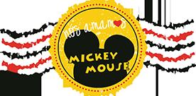 Nós Amamos Mickey Mouse Logo