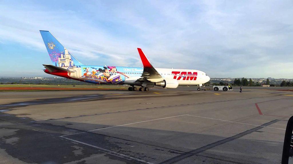 Avião dos sonhos