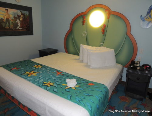 ART OF ANIMATION DISNEY RESORT – O HOTEL COM QUARTO DA PEQUENA SEREIA