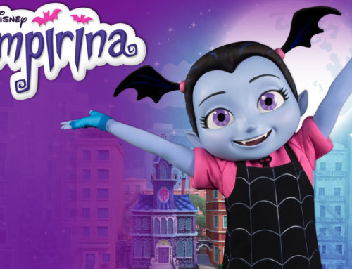 A DOCE VAMPIRINA ESTÁ CHEGANDO NO DISNEY HOLLYWOOD STUDIOS